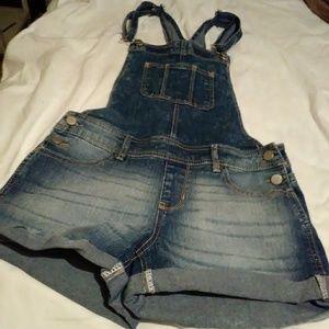 Denium. Ouerall. Shorts
